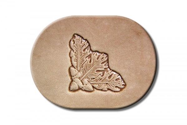 "Stamping Tool ""Oak Leaf Corner"""