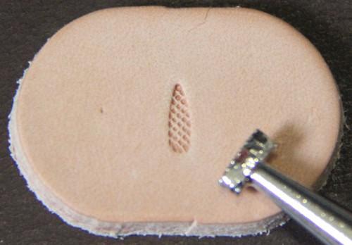 Punziereisen / Prägewerkzeug / Lederstempel A104 ( T-05 )